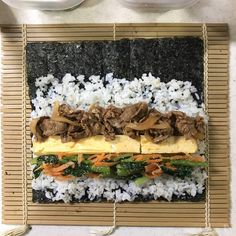 Home Recipes, Asian Recipes, Cooking Recipes, Japanese House, Japanese Food, Kimbap, Food Photography Tips, Korean Food, Kitchen Gadgets