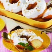 DONAT DURIAN http://www.sajiansedap.com/mobile/detail/10680/donat-durian serba durian, delici food, fever dessert, olahan durian, indonesian food, asian cook, durian fever