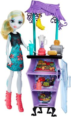 Fancy Monster High FDW Lagoona Snack Shack Amazon co uk Toys