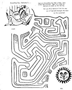 groundhogs coloring sheets yahoo image search results happy groundhog day pinterest coloring sheets coloring and results - Groundhog Day Coloring Pages