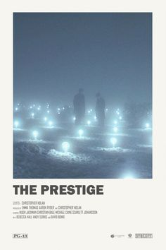Andrew Sebastian Kwan The Prestige alternative movie poster Iconic Movie Posters, Minimal Movie Posters, Minimal Poster, Cinema Posters, Movie Poster Art, Iconic Movies, Poster Poster, Poster Wall, The Prestige Movie