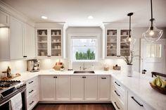 Custom Kitchen built & Installed by James Weedmark of J Weedmark Millwork.