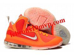 New Nike Zoom LeBron 9(IX) Shoes Orange/Red Nike Shoes Cheap, Nike Shoes Outlet, Running Shoes Nike, Cheap Nike, Lebron 9, Lebron James, Jazz Basketball, Basketball Shoes, Air Max Sneakers