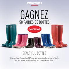 Gagnez 50 paires de bottes Havaianas | Glamour