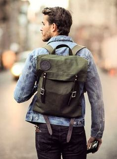 17 Fashionable Grown-Up Men Backpacks To Get Inspired - Styleoholic