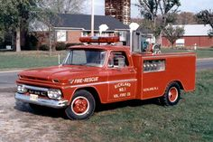 Richland, NJ FD 1964 GMC Generator & Search Light Truck.
