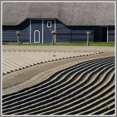 Boerderij   Zeeland -- typical farm architecture of Zeeland Province, The Netherlands