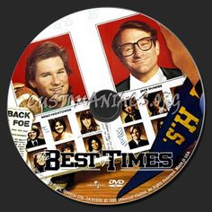 The Best Of Times DVD label by Robbo