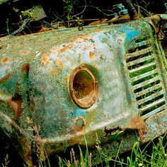 vintage car grill by Andrew @cubagallery on Flickr