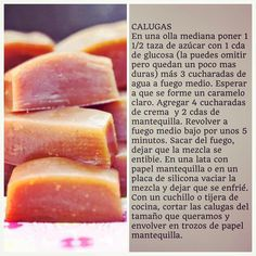 Receta de Calugas Caseras #DíaDelNiño Chocolate Caramels, Sin Gluten, Snack, Cantaloupe, Recipies, Sweets, Fruit, Vegetables, Eat