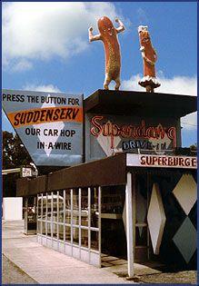 Superdawg - Favorite hot dog in Chicago