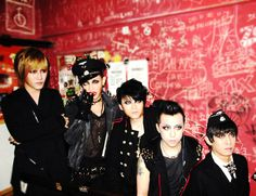Silver Ash is a glam/Goth rock band influenced by the Japanese Visual Kei movement. They are based in Beijing