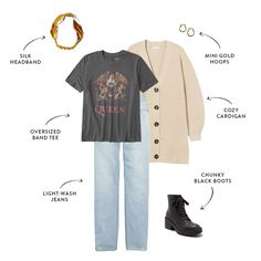 Mom Outfits, Casual Outfits, Cute Outfits, College Outfits, Fall Outfits, Clothing Staples, Loungewear Outfits, Sweaters And Leggings, Light Wash Jeans