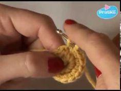 Iniciación al Tejido a Crochet - Parte 14 : Círculo básico - YouTube