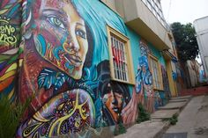 Proof That Valparaiso Chile Is The Street Art Capital Of The World