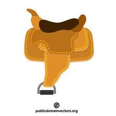 Saddle Vector Graphic Publicdomain Vectorgraphics Freevectors Illustrator
