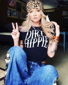 "Dirty Hippie"" Graphic Tee ""Ole Dirty Hippie"" Graphic TeeTee (disambiguation) Tee may refer to: Modern Hippie Style, Hippie Chic, Bohemian Gypsy, Gypsy Style, Hippie Style Hair, Boho Chic, Modern Gypsy, Boho Style, Modern Hippie Fashion"