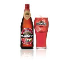 Cerveja Magners Irish Berry, estilo Specialty Cider and Perry, produzida por Bulmers Ireland, Irlanda. 4.5% ABV de álcool.