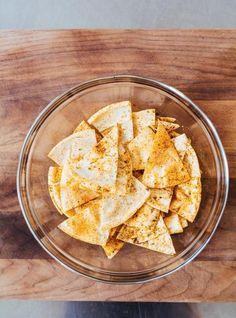 Recette de chips de pita de Ricardo