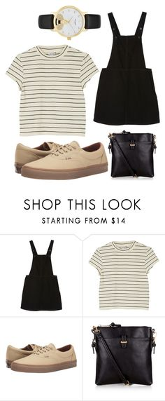 """""""Clearly"""" by i-dont-want-to-go ❤ liked on Polyvore featuring Monki, Vans, Accessorize and Kate Spade"""