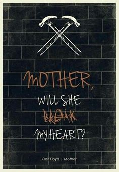 Pink Floyd mother lyrics