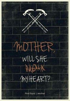 Pink Floyd mother lyrics