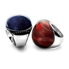 Special gorgeous rings! #red #rings #luxenter #dubai