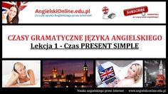 Darmowe Lekcje Gramatyki MP3 - Język Angielski Czas Present Simple - Lekcja 1. 1). Zobacz najlepszy kurs gramatyki języka angielskiego: http://angielskionline.edu.pl/gramatyka 2). Sprawdź najpopularniejszy Kurs angielskiego Online: http://angielskionline.edu.pl/etutor