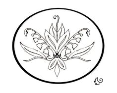 Lily of the Valley buckle final design by Sixwing