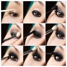 Afbeeldingsresultaat voor smokey eyes paso a paso Love Makeup, Makeup Tips, Beauty Makeup, Makeup Looks, Hair Makeup, Maybelline, Wide Set Eyes, Smoky Eyes, Make Up Tricks