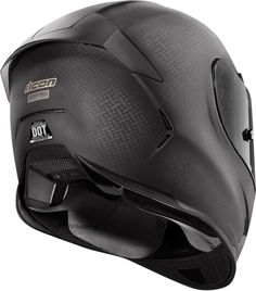 2015 Icon Airframe Pro Carbon Fibre Shell Helmet Rear