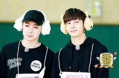 Shin Ho Seok y Chae Hyung Won de Monsta x 