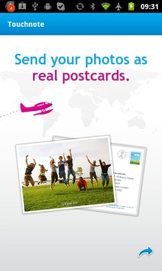 The simplest and nice gift: send someone a postcard....