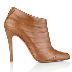 Christian Louboutin Booties Orniron Ankle Brown
