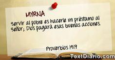 Un Proverbio de la Biblia para ti!