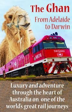 A Telegraph Travel article about the Ghan train as it crosses the heart of Australia from Adelaide to Darwin. One of the world's great railway journeys.