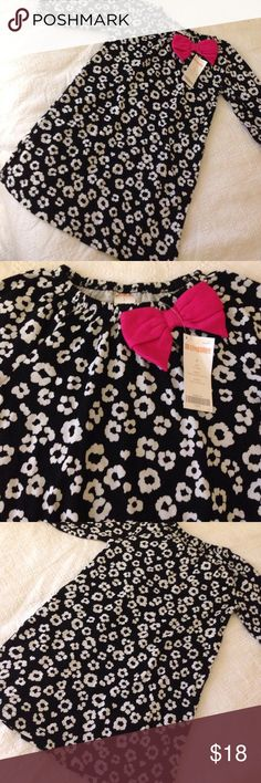 Gymboree flower dress with bow Brand new with tags forgot I even had this in her closet and now doesn't want fit. Size 4/5 from Gymboree Gymboree Dresses
