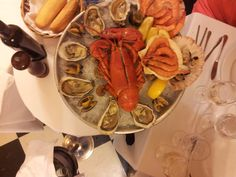 """Food aat """"7 Portes"""" Restaurant in Barcelona was not bad at all."""