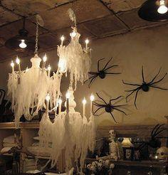 Украшаем дом к Хеллоуину
