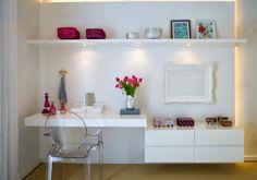 anne makeup®: mural de décor: cadeiras transparentes
