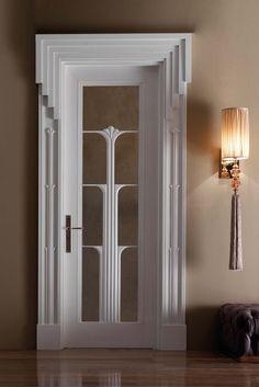 This is a beautiful door art deco in 2019 дизайн двери, двери, дизайн дома. Casa Art Deco, Art Deco Door, Art Deco Stil, Modern Art Deco, Art Deco House, Modern Design, Art Nouveau, Muebles Art Deco, Door Design