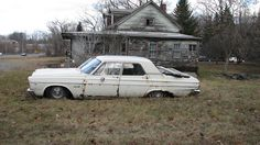 RUSTY '65 PLYMOUTH BELVEDERE