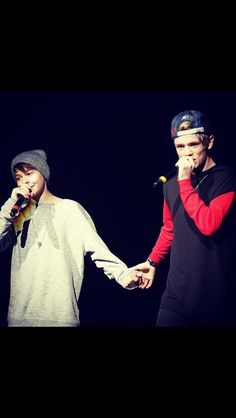 y'rebars and melody (their NOT gay)