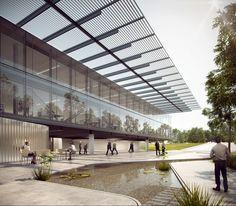 Imagem 1 de 12 da galeria de Primeiro lugar no concurso nacional para a nova sede do CAU/BR + IAB/DF. Cortesia de São Paulo Arquitetos e COA Associados