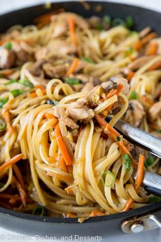 Chicken Lo Mein | Dinners, Dishes, and Desserts | Bloglovin'
