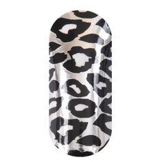 KOOKY Cheetah White, Black & Silver Wraps