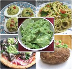 Cooking with Amy: A Food Blog: 20 Things to Do with Leftover Guacamole. Pizza, pasta, potato, tuna salad...