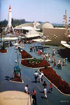 Tomorrow Land (old one) in Disneyland