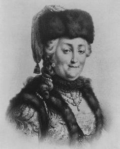Catherine the Great - don't let the kindly, grandmotherly appearance fool you. She was probably the most brilliant and astute monarch ever to rule Russia.