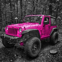 Got tagged for the pink jeep challenge by @jeepgirlsbtw . buttercup looks good…